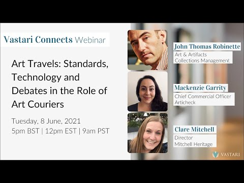 Art Travels: Standards, Technology and Debates in the Role of Art Couriers