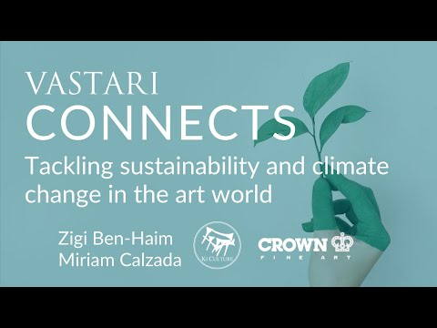 Tackling sustainability and climate change in the art world